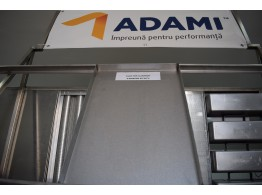 Tavă fier aluminat 60x80X4 PAN ADAMI