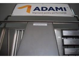 Tavă fier aluminat 60x40 PAN ADAMI