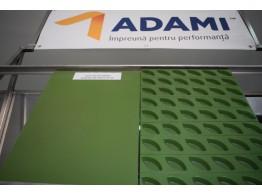 Tavă fier aluminat 60x40 teflonată borduri înclinate PAN ADAMI