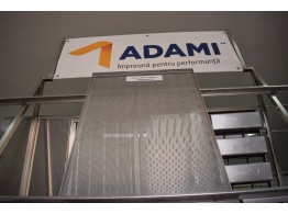 Tavă aluminiu perforat 60x80 cu 4 margini PAN ADAMI