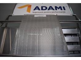 Tavă aluminiu perforat 60x80 cu 3 margini PAN ADAMI