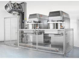 Sistem de malaxare cu bază de descărcare complet automatizată POWER ROLL SYSTEM