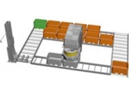 Sistem de malaxare industrial cu relaxare aluat POWER SQUARE SYSTEM