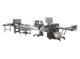 Dough processing lines