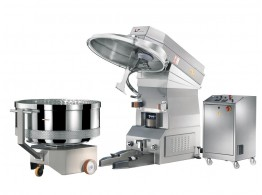 Removable bowl spiral mixer MASTER MIX ES