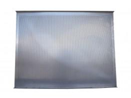 Tava aluminiu perforat 600x800x20 mm cu 2 margini