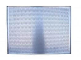 Tava aluminiu perforat 600x800x20 mm cu 4 margini