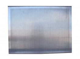 Tava aluminiu perforat 600x800x10 mm cu 2 margini
