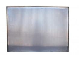 Tava aluminiu perforat 580x780x20 mm cu 4 margini