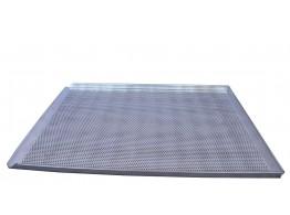 Tava aluminiu perforat 600x400x20 mm cu 3 margini