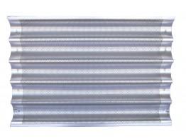 Tava aluminiu perforat 600x400 cu 5 canale
